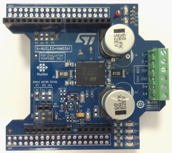 Демоплата  High power stepper motor driver expansion board based on powerSTEP01 for STM32 Nucleo