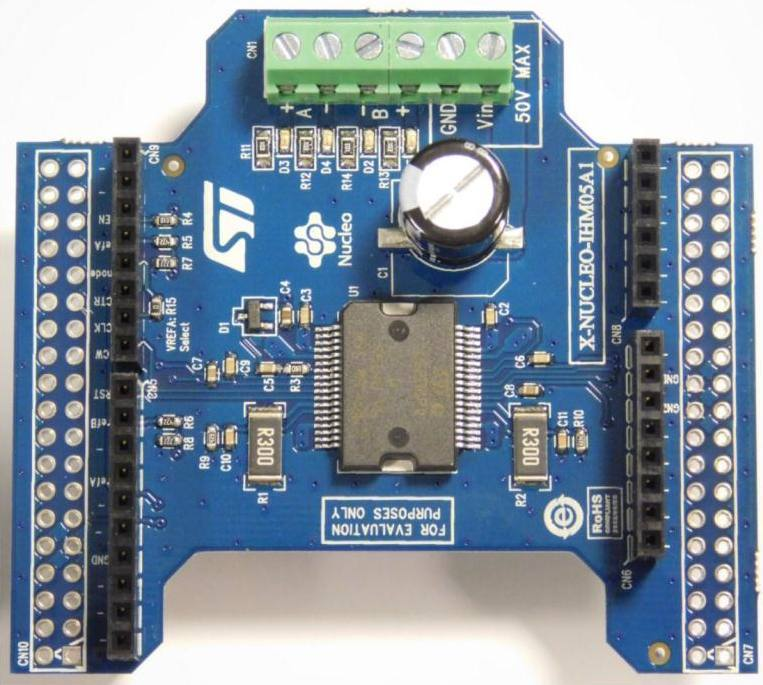 Демоплата  Bipolar stepper motor driver expansion board based on L6208 for STM32 Nucleo