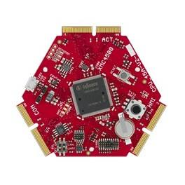 Демоплата  CPU Board XMC4500 General Purpose - Standard Human Machine Interface Card (HMI_OLED-V1)- Ethernet/CAN/RS485 Interface Card (COM_ETH-V1)- J-Link Lite CortexM Debugger- Pin Extension Board (UNI_EXT01-V2)- Headset- USB cable