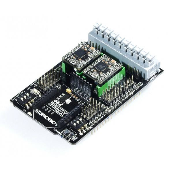 Dual Bipolar Stepper Motor Shield for Arduino [A4988