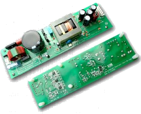 Демоплата  Employing IRS27951SPbF Resonant Half Bridge controller HVIC and the IR11682S. Input voltage range: 350-420VDC or 250V-300Vac. Outputs: 24V/10A. Switching frequency range: 70KHz-150Khz. 95% efficiency without heatsink.