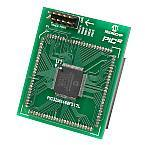 Демоплата  Processor Plug-In Modules are small circuit boards to be used with the various Microchip Development Boards to evaluate various MCU families. These plug into the main processor socket of the Development Boards so that different microcontrollers can be use