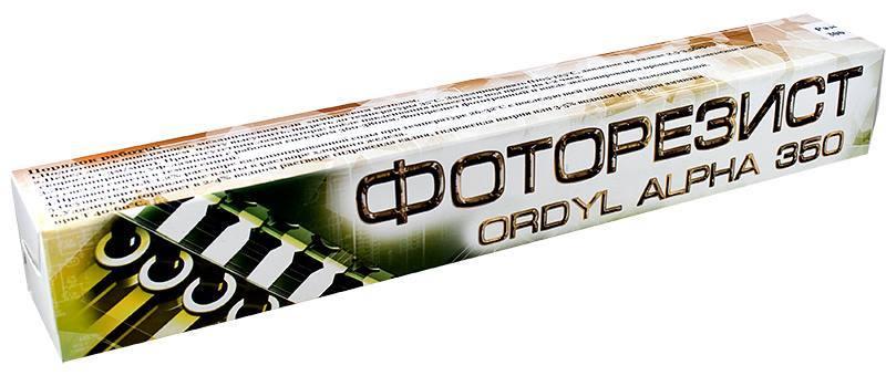 фоторезист сухой пленочный ordyl alpha 350 купить