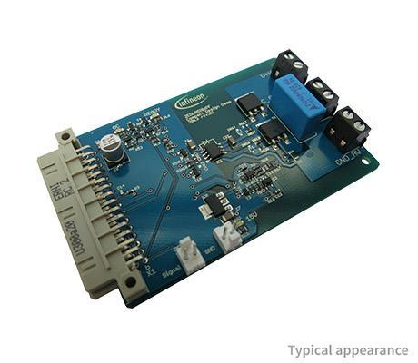 Демоплата  Evaluation Board for 2EDL05I06PF - Optimized 600V half bridge gate driver IC with LS-SOI technology to control power devices like MOS-transistors or IGBTs.