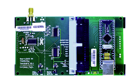 Демоплата  Evaluation board for the receiver TDA 5230 and TDA 5231В for 315, 434 andВ 868MHz.