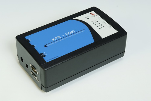 Демоплата  The Softlog ICP2GANG-DP Production Quality In-Circuit 4 Channel GANG Programmer is a cost-effective programmer that operates with a PC or as a standalone unit. Note: All technical support and warranty service will be provided by Softlog. You can contact t