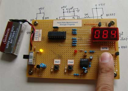 Данный проект демонстрирует технику измерения частоты сердечных сокращений (пульса) по изменению объема крови в...