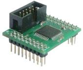 ADPCPLD01-1-0 - макетная плата для макетирования устройств на базе CPLD XILINX