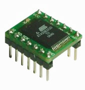 ADPFLASH01 - плата с установленной SPI FLASH памятью AT45DB321D ATMEL