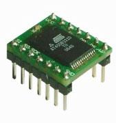 ADPFLASH01 - плата с установленной SPI FLASH памятью AT45DB321D ATMEL