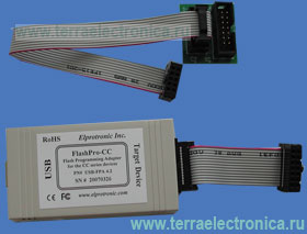 FLASHPRO-CC-STD – быстрый внутрисхемный JTAG программатор-эмулятор с подключением по USB интерфейсу