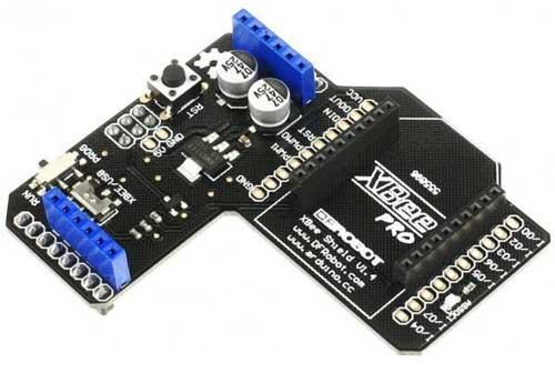 Arduino-совместимая плата расширения XBeeShield