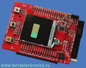 MSP430-4619LCD – отладочная плата на базе микроконтроллера MSP430FG4619