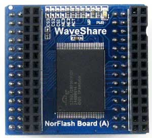 NorFlash Board (A) - ��������� ������ NorFlash ������.