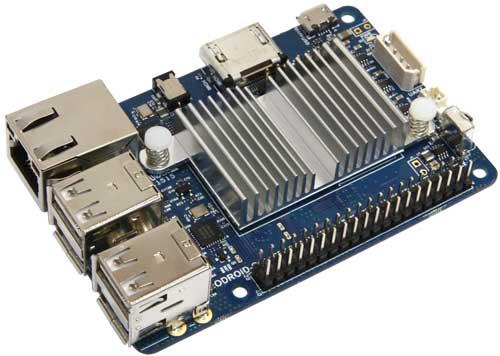 Одноплатный миникомпьютер ODROID-C1+