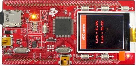 Модуль TE-TM4C123