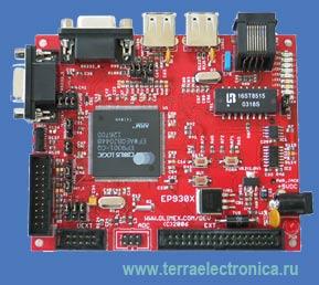 CS-EP9301 – отладочная плата для ARM920T микроконтроллеров EP9301 Cirrus Logic