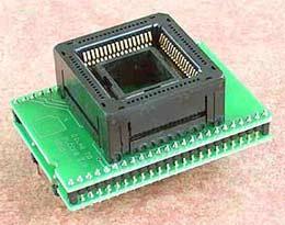 Специализированный адаптер для программирования ИМС  в корпусе PLCC68