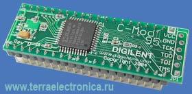 DL-CMOD – базовая отладочная плата с установленной ПЛИС типа XC95