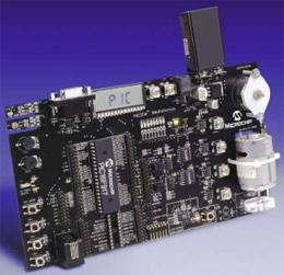 DM163029 – демонстрационный набор PICDEM™