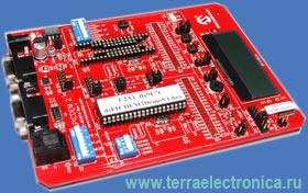 DM300018 – отладочная плата для реализации приложений на базе сигнальных контроллеров PIC30F производства MICROCHIP