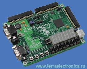 DO-SPAR3-DK – стартовый набор систем на базе FPGA Spartan-3 фирмы XILINX