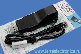FDI-USB-ICP – удобный внутрисхемный программатор с USB интерфейсом для микроконтроллеров семейства LPC9xxx фирмы NXP