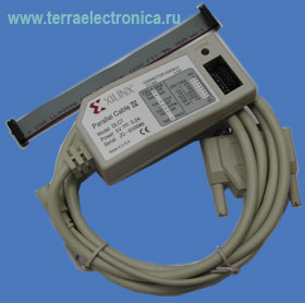 DO-CSP-PRO-PC4 – комплект из загрузочного кабеля (LPT или USB) для загрузки, отладки и верификации систем на базе ПЛИС фирмы XILINX