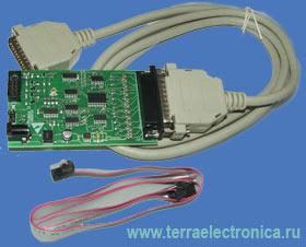 ICP-CABLE-2 – внутрисхемный программатор для микроконтроллеров семейства ST7F производства STMICROELECTRONICS