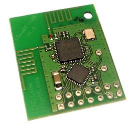IDWARF-168 - высокоинтегрированная плата от Chip45 с большой плотностью монтажа для построения и отладки систем беспроводной передачи данных