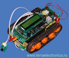 IE-ROBOPICA – набор разработчика на базе PIC16