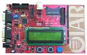 Отладочная плата из набора KSDKLPC2148 J-LINK фирмы IAR