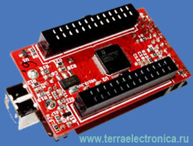 LPC-H2148 - макетная плата фирмы OLIMEX для микроконтроллера LPC2148 ARM7TDMI-S