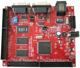 LPC-L2294-1MB - отладочная плата с ETHERNET контроллером для разработки