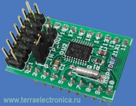 Малогабаритная макетная плата MSP430-H2131