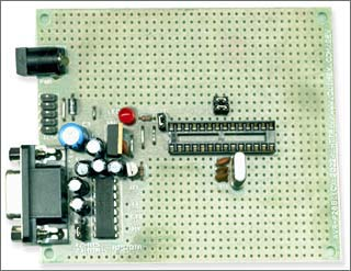 Плата для макетирования AVR-P28B-8MHz