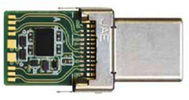 Контроллер CCG2 производства компании Cypress Semiconductor, встроенный в корпус разъема USB типа C