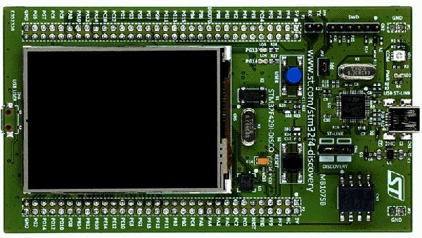 STM32 + современный TFT-дисплей: варианты на любой вкус