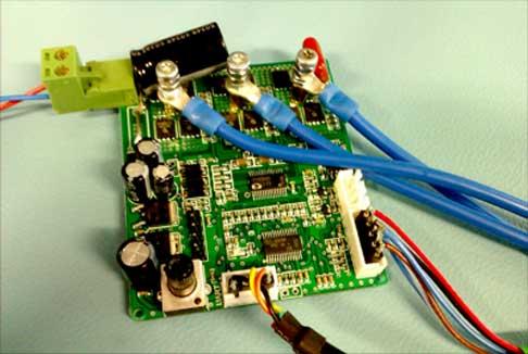 Отладочная плата контроллера вентильного двигателя мощностью до 300 Вт