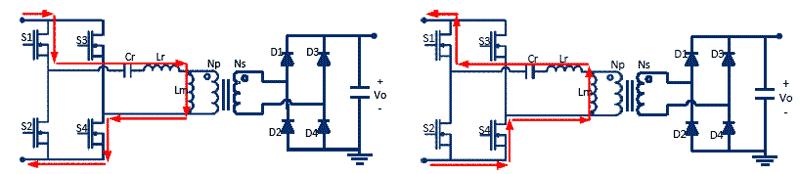Протекание тока через обратный диод