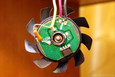 Датчик Холла в компьютерном вентиляторе