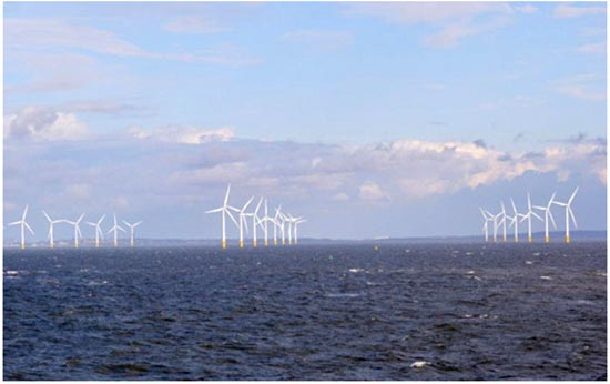 Ветровая электростанция Burbo Bank Offshore Wind Farm