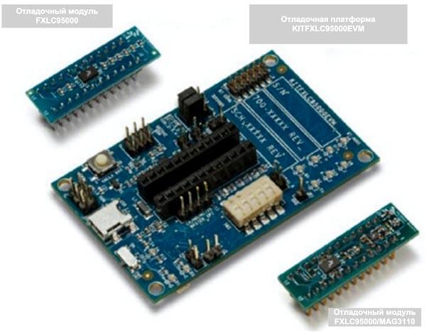 32-разрядный микроконтроллерный концентратор Xtrinsic FXLC9500 от NXP со встроенным акселерометром