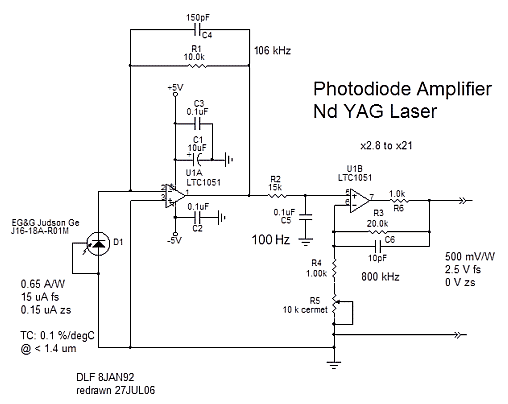 Итоговая схема усилителя PDA