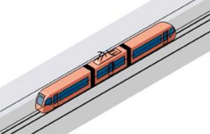 Расположение электрооборудования в трамвае