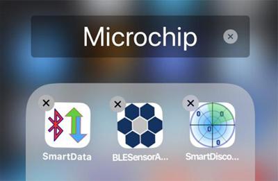 Приложения для сообщения с модулями Microchip