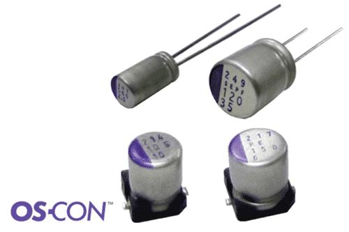 Конструкция выводного полимерного конденсатора