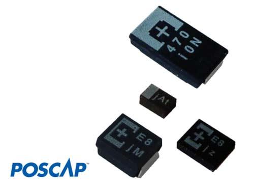 Внешний вид конденсаторов OS-CON™ от Panasonic