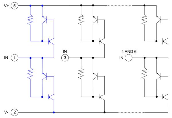 Схема SP72x