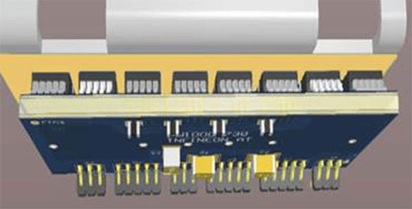 Существует несколько вариантов размещения радиаторов для DDPAK